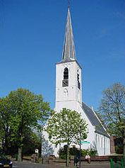 Witte kerk Noordwijkerhout